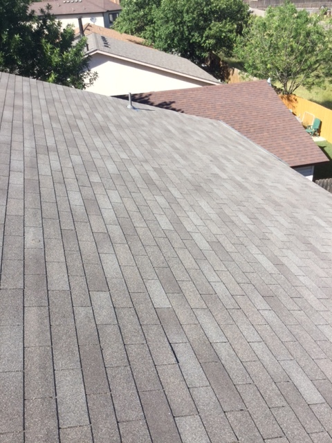 Converse, TX - New roof out in Converse, Texas. If you need a new roof or need an inspection, especially after the horrible hail storms that have recently happened, give the roofers at Integrity Roofing & Siding. Receive FREE ESTIMATE- CALL 210-340-ROOF.