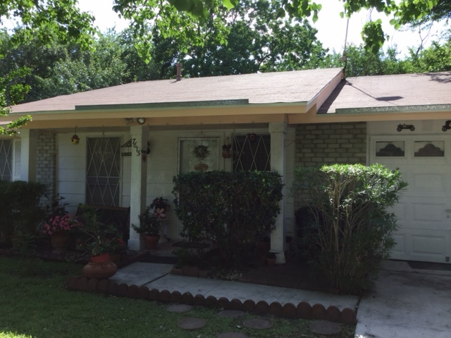 San Antonio, TX - New roof near Converse, Texas put on by your local roofing company, Integrity Roofing & Siding.