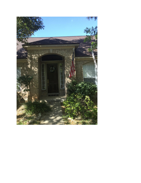 San Antonio, TX - A finished product from the contractors at Integrity Roofing.