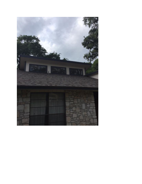 San Antonio, TX - A finished product from the contractors at Integrity roofing!