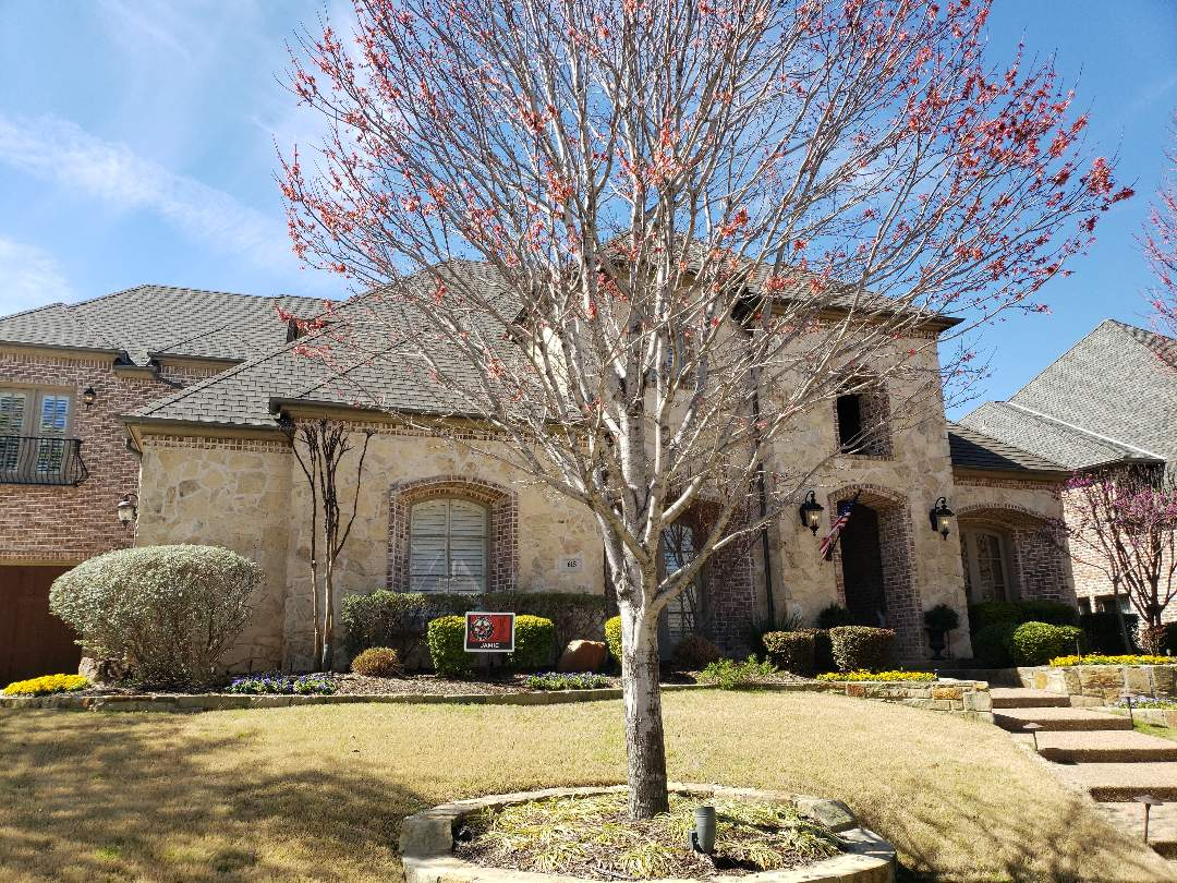 Coppell, TX - Free roof hail damage inspection.