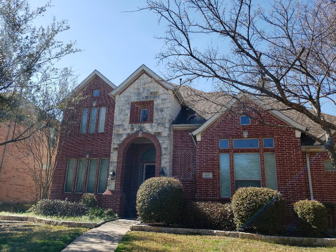Plano, TX - Hail damage inspection