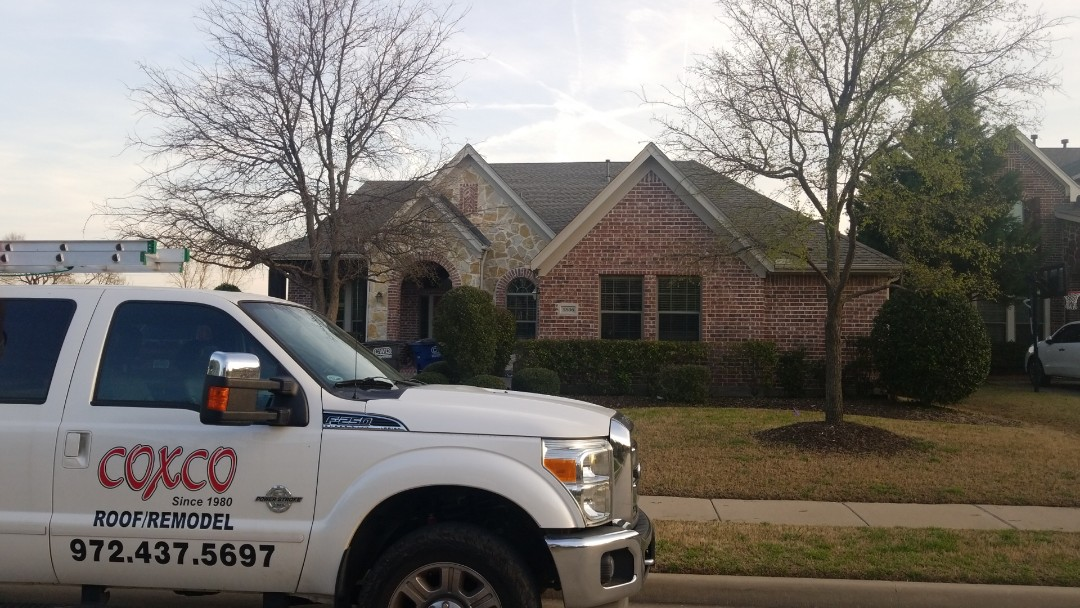 Allen, TX - Roof inspection hail damage