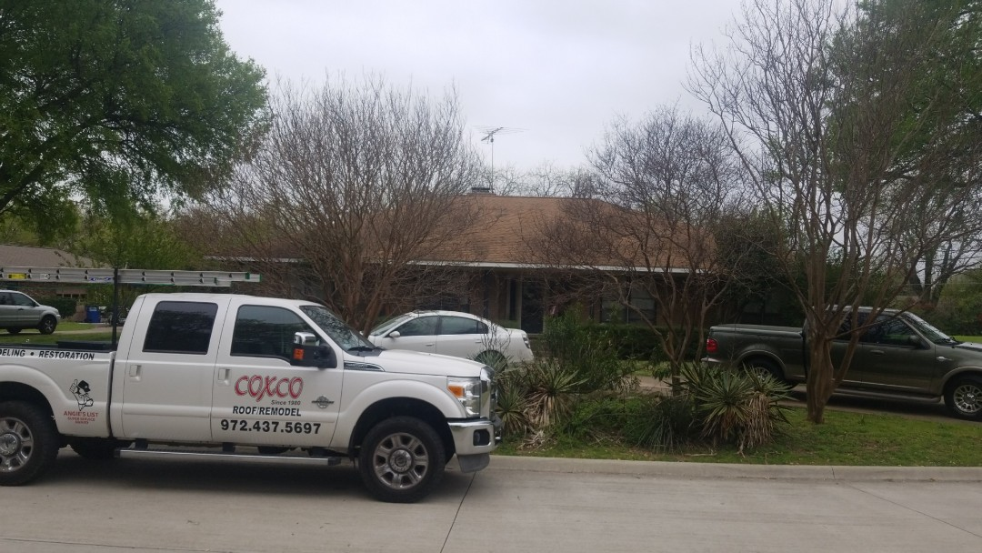 Allen, TX - Hail damage, repeat  customers are the best!