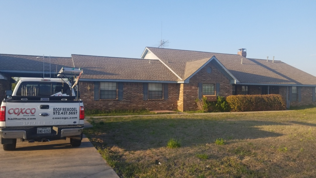 Allen, TX - Hail damage