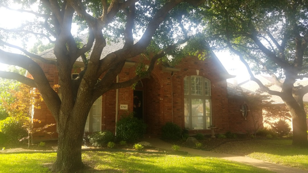Garland, TX - Hail damage inspection and some paint work
