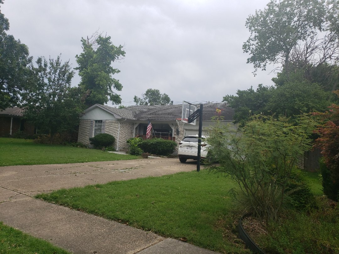 Richardson, TX - Free roof hail and wind damage inspection.