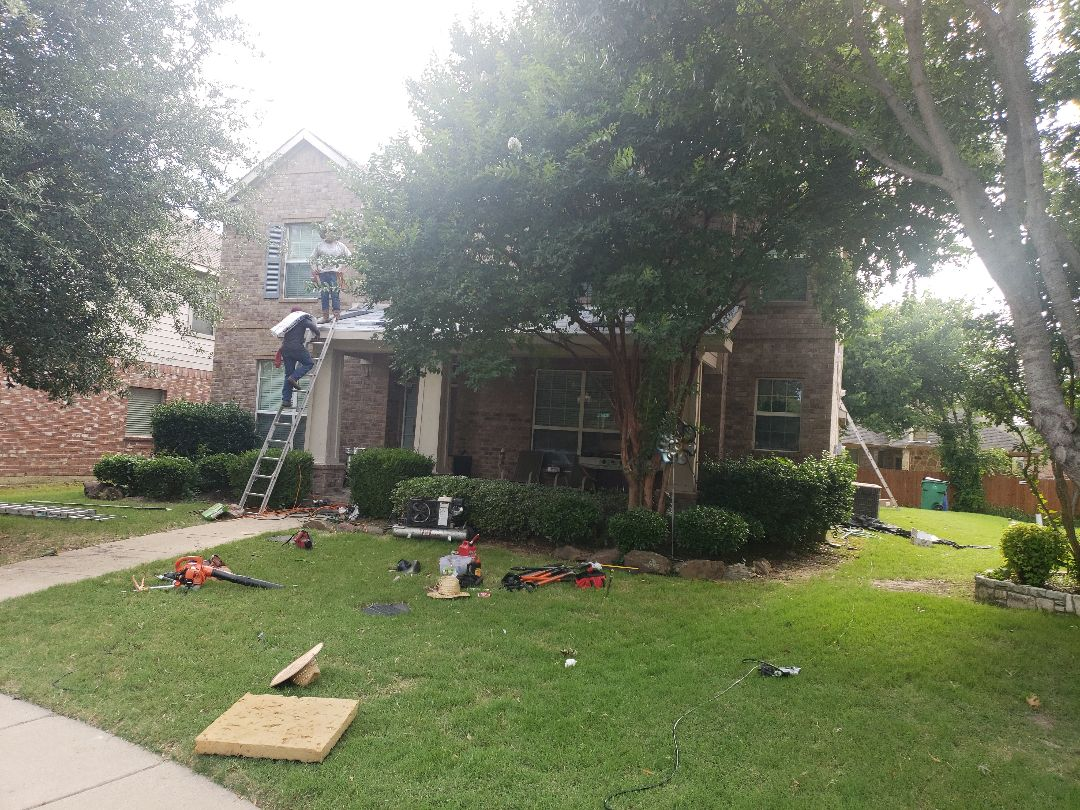 McKinney, TX - Roof installation quality control check