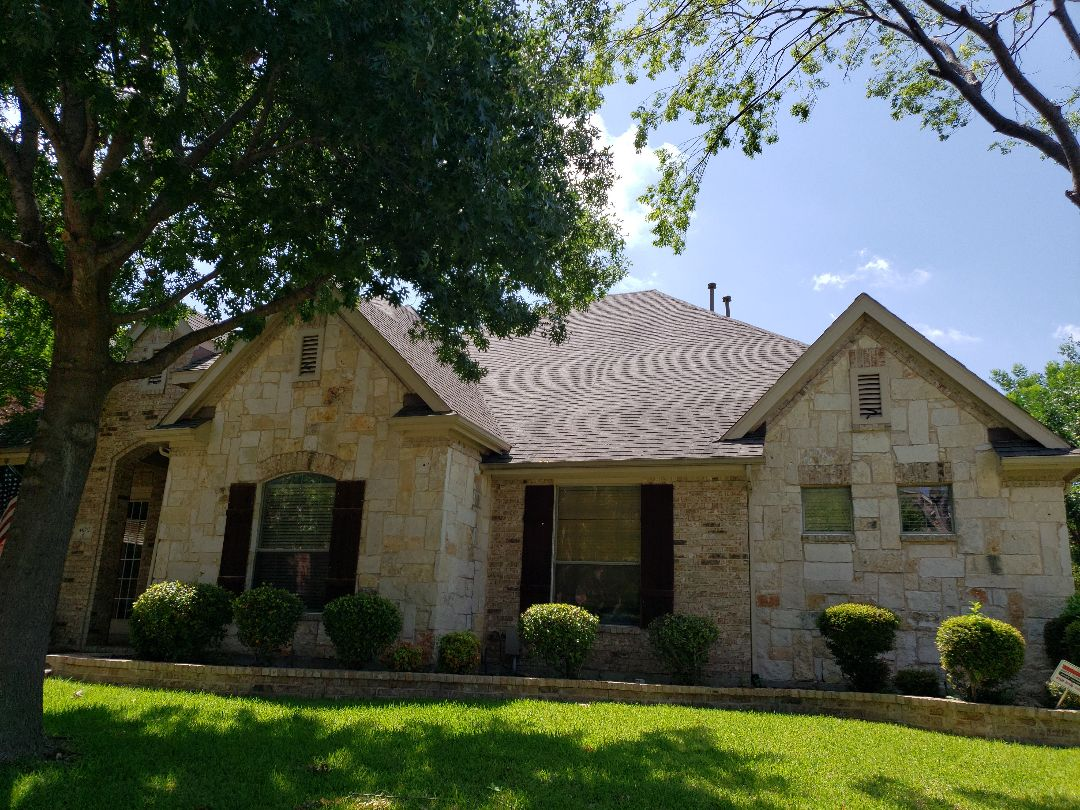 Plano, TX - Free roof hail and wind damage expert inspection