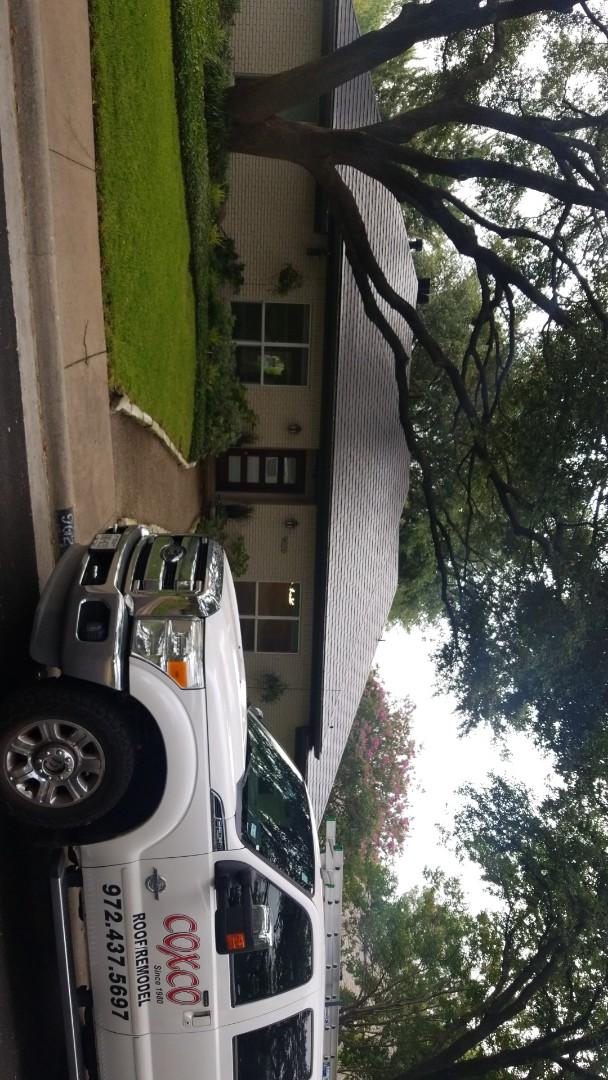 Dallas, TX - Hail damage leak repair