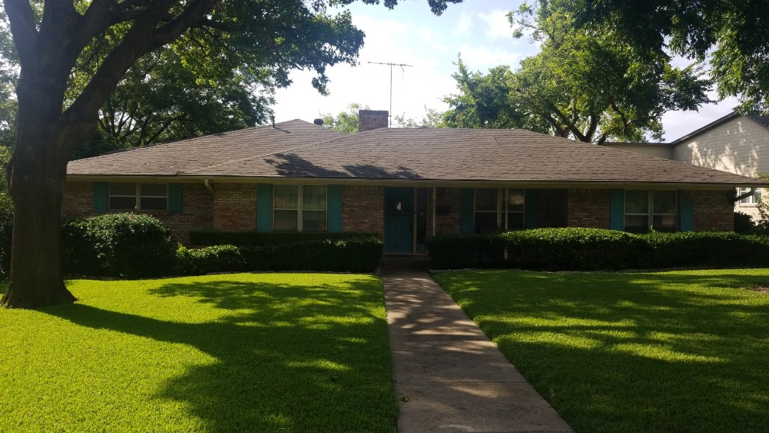 Dallas, TX - Roof inspection no hail damage