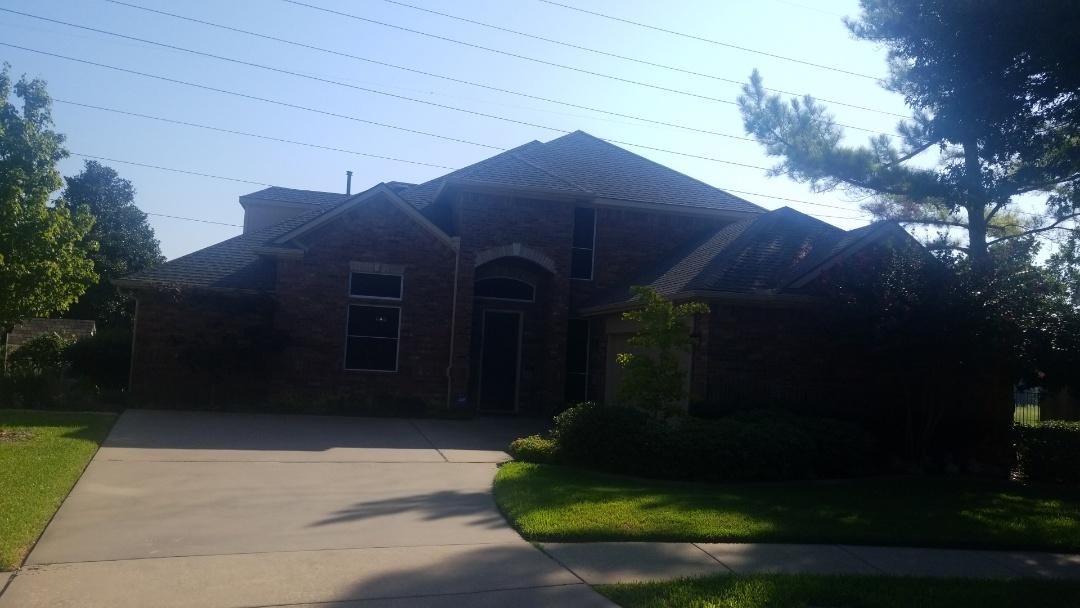 Garland, TX - Hail damage inspection.   Reroof insurance claim