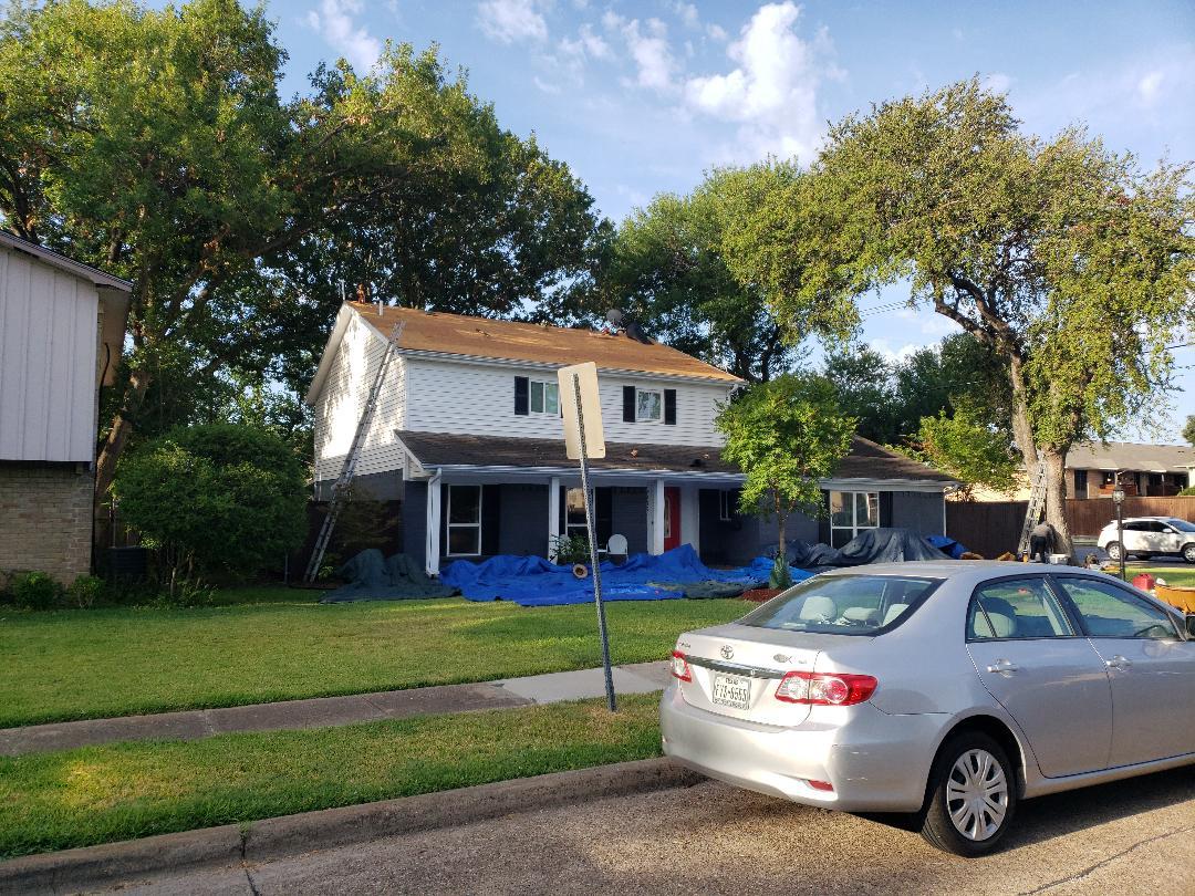 Richardson, TX - Roof installation