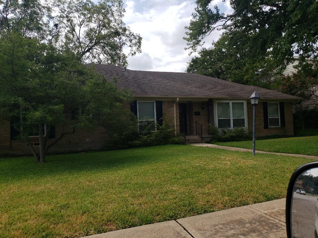 Richardson, TX - Free hail roof damage leak inspection