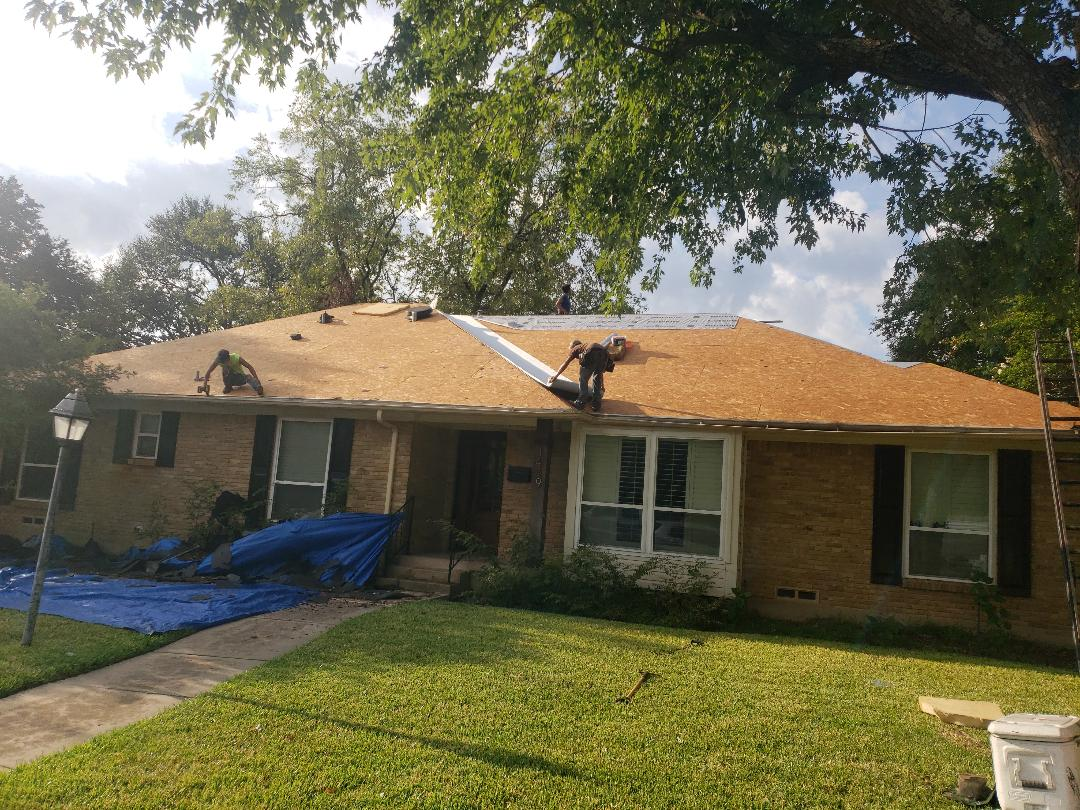 Richardson, TX - Roof installation