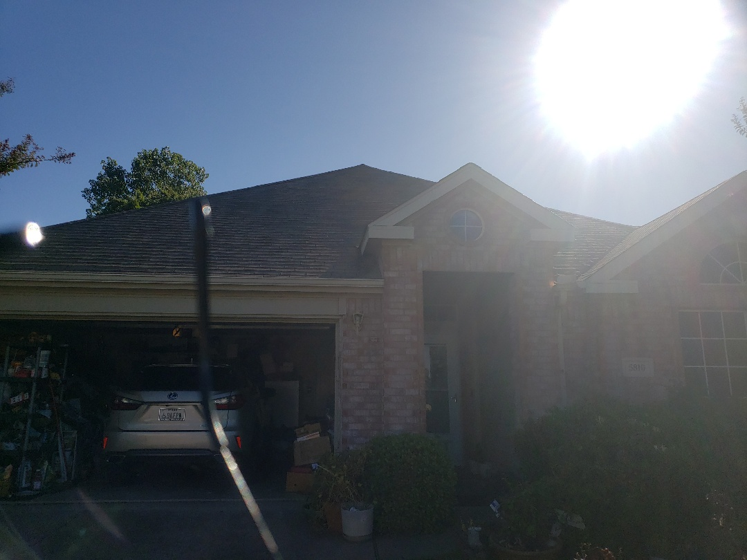 Garland, TX - Signing a contract for a new roof