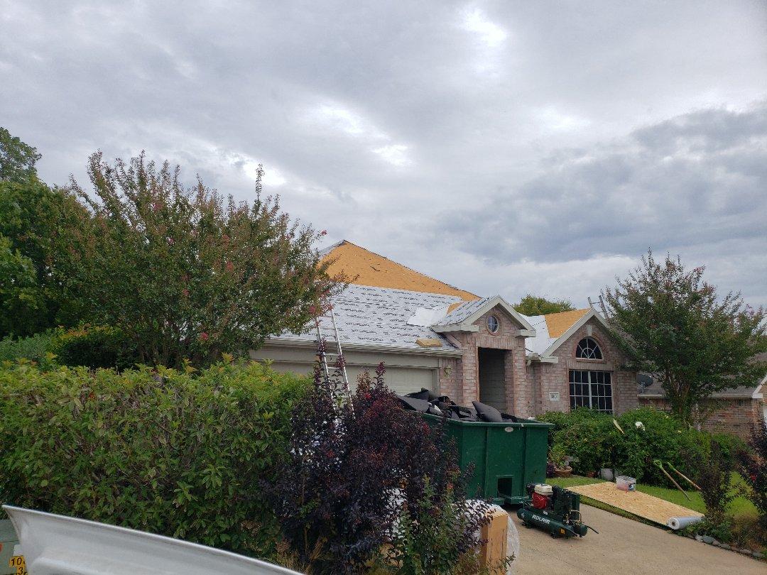 Garland, TX - Roof installation