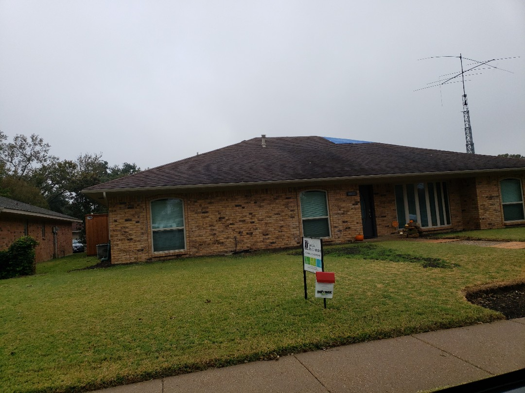 Richardson, TX - Storm damage assessment