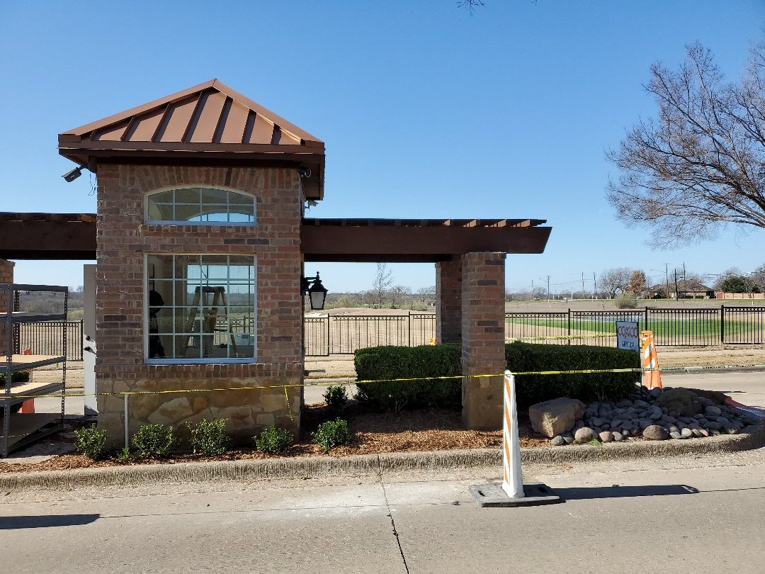 Garland, TX - New Guardhouse