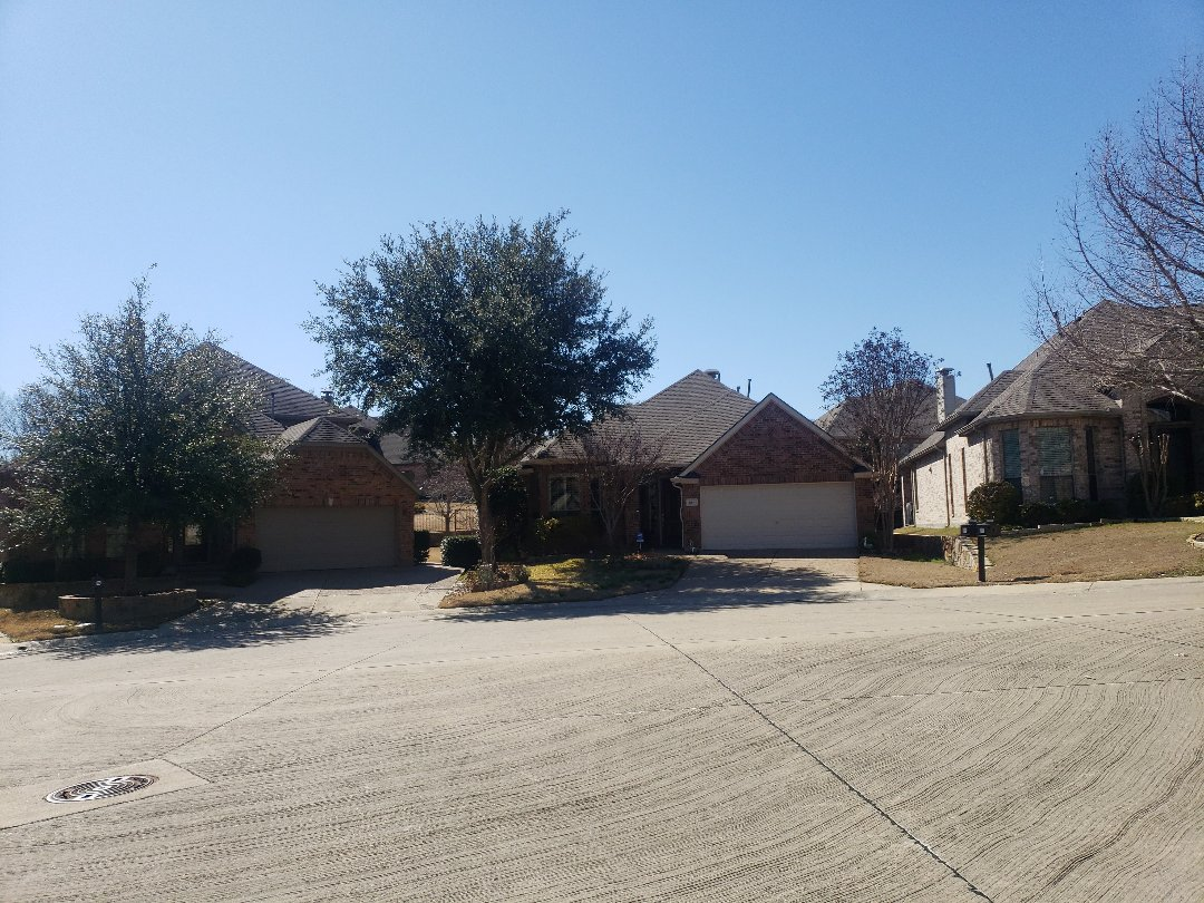 Coppell, TX - Hail damage inspection