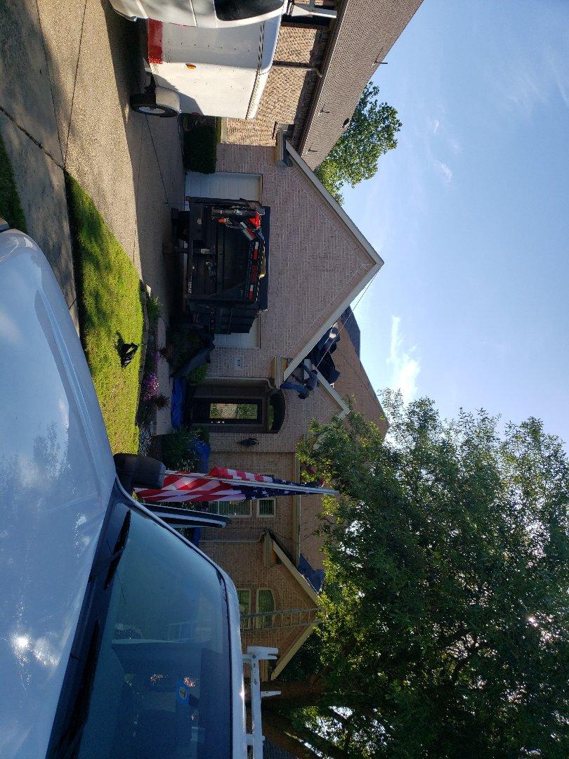 McKinney, TX - Roof installation