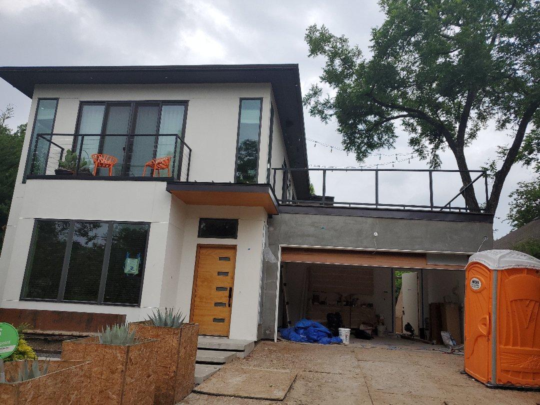Dallas, TX - Stucco repair