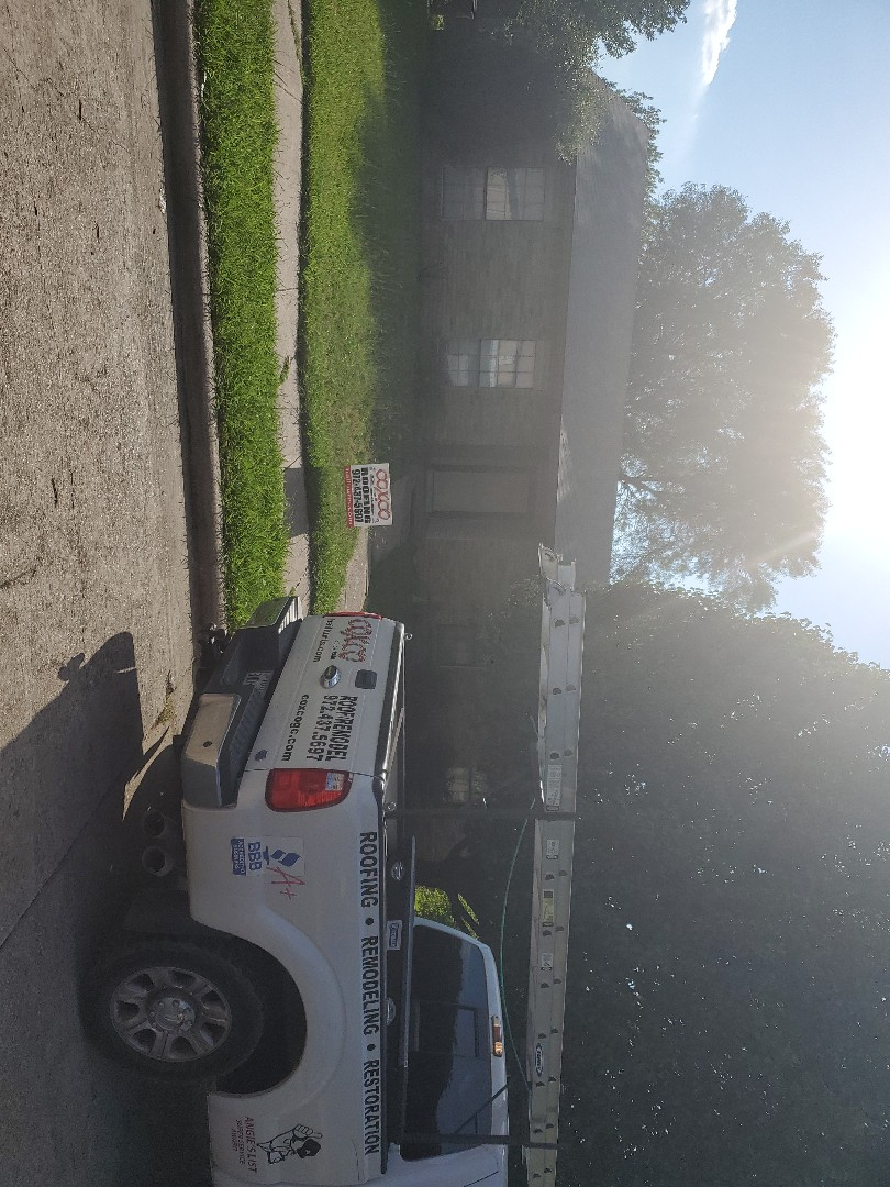 Carrollton, TX - Roof replacement.   Insurance  covered everything.
