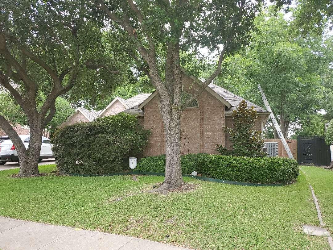 Garland, TX - Roof inspection