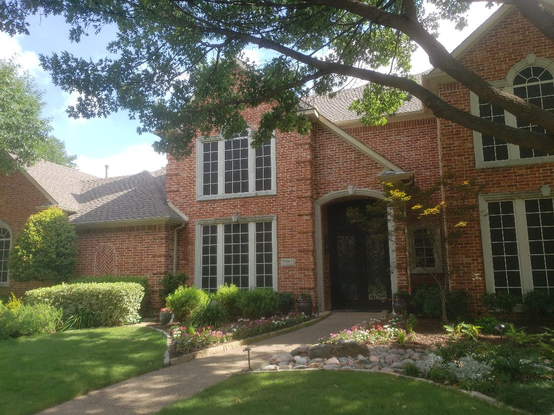 Plano, TX - Finalizing a report to document storm damage for this Plano TX home.