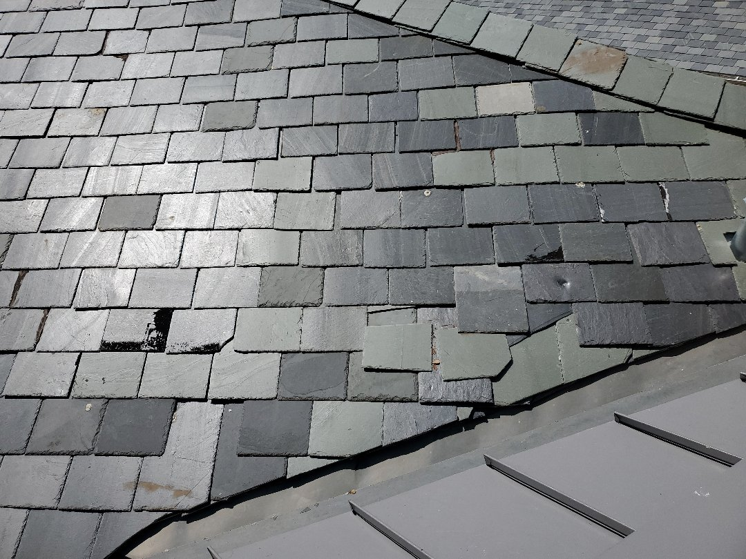 Plano, TX - Slate roof repairs