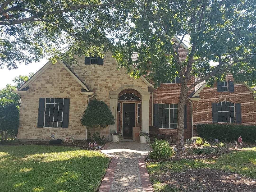 Garland, TX - Roof inspection  and flood