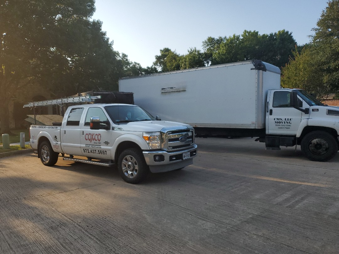 Garland, TX - Pack out day on flood job