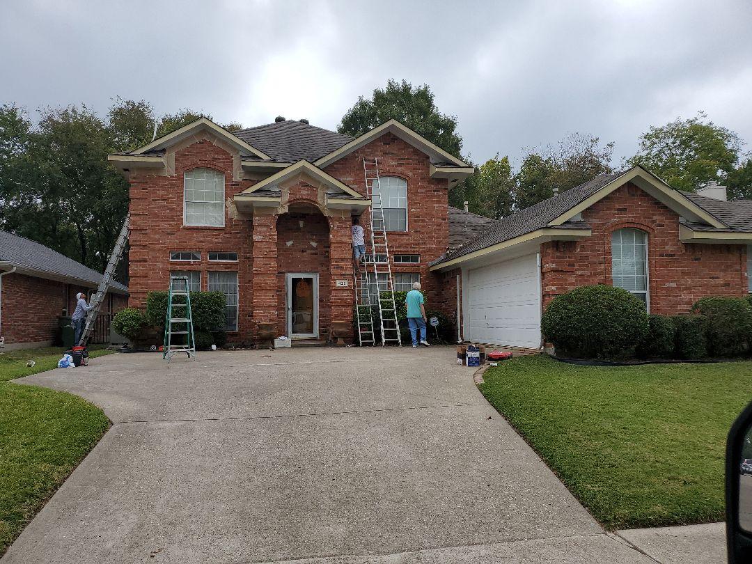 Garland, TX - Painting exterior