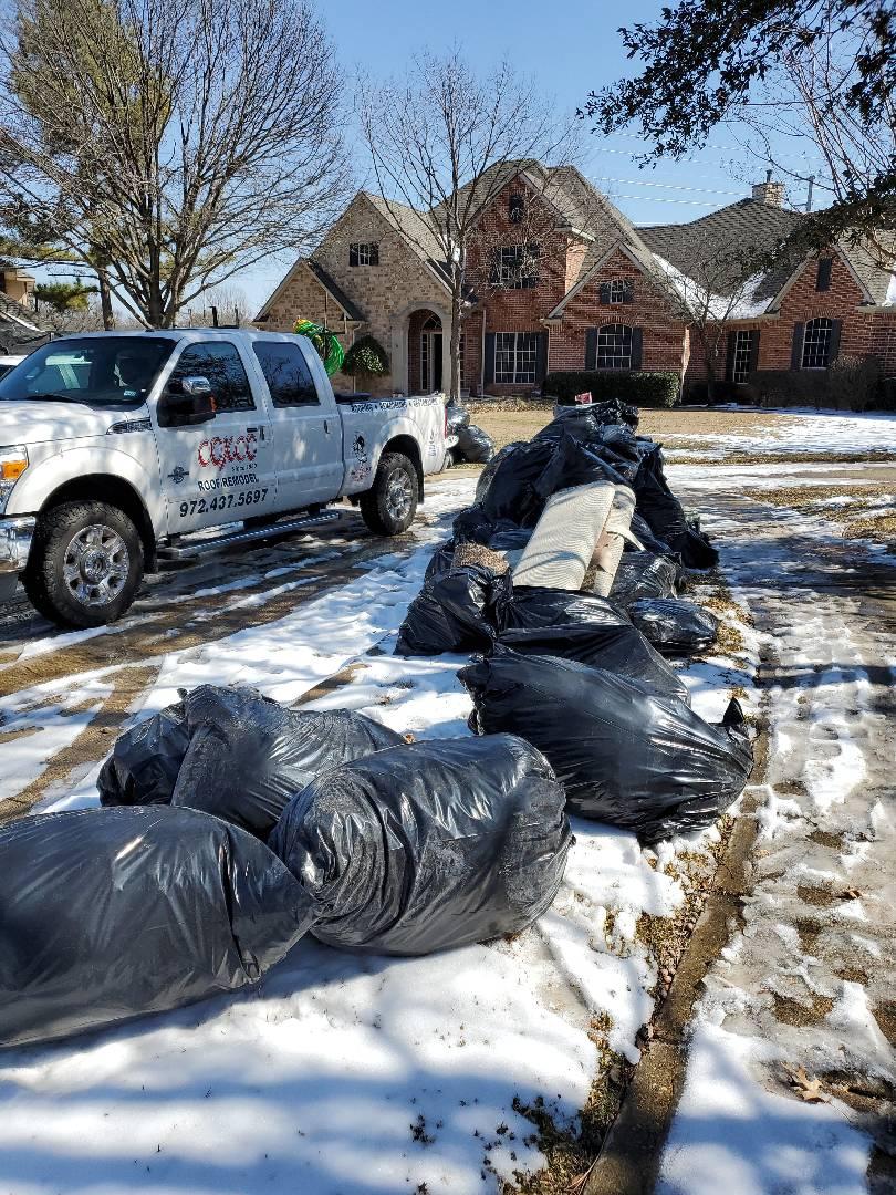 Garland, TX - Flood clean up in Firewheel Estates