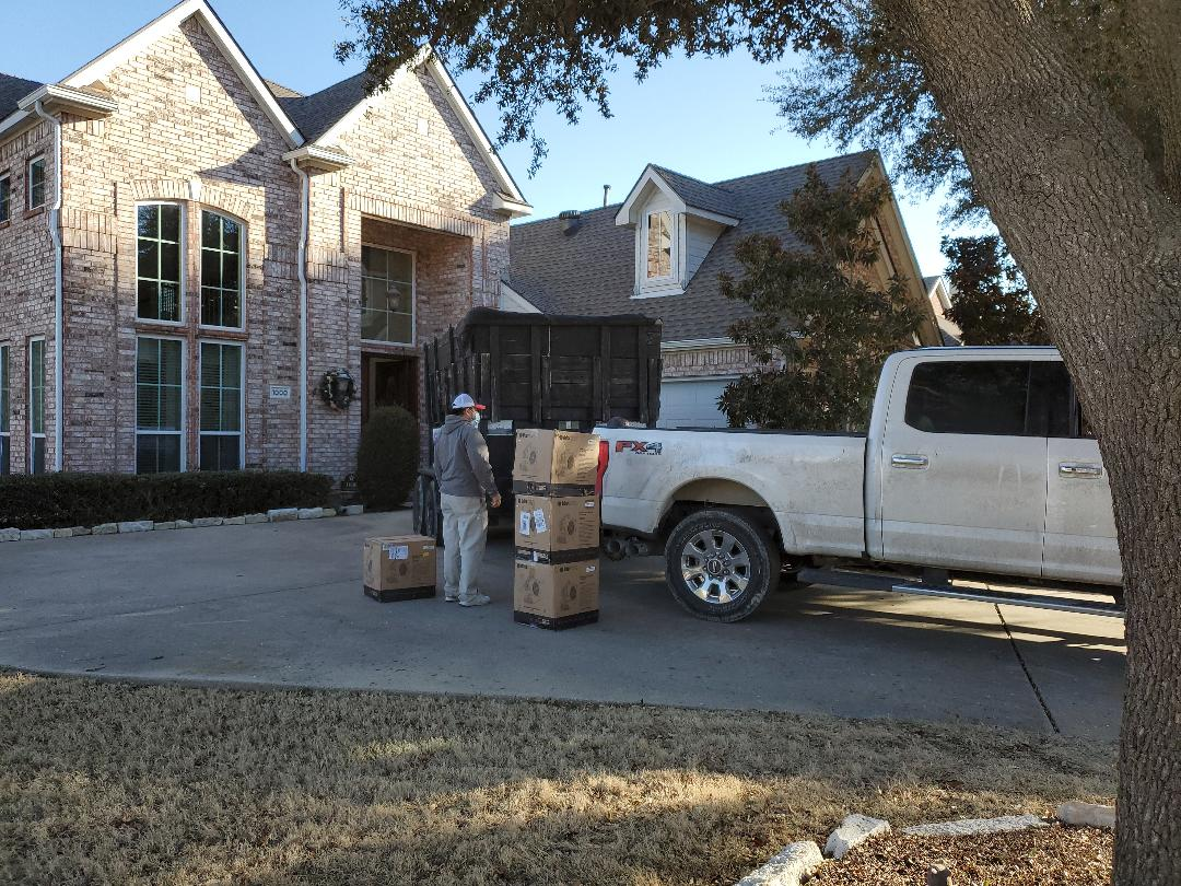 Coppell, TX - Flood mitigation in Coppell