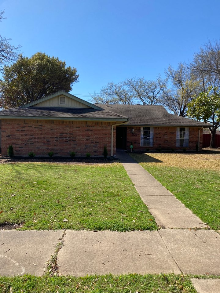 Richardson, TX - Free roof inspection for leak.
