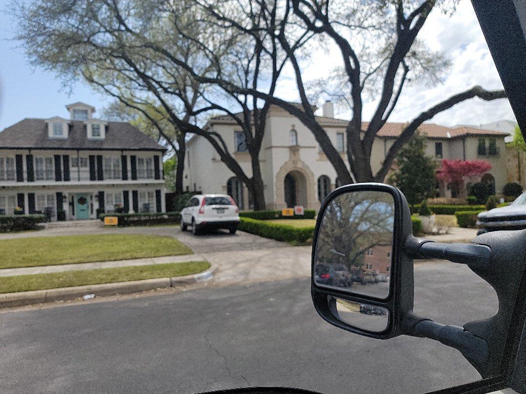 Dallas, TX - Pre real estate sale inspection.