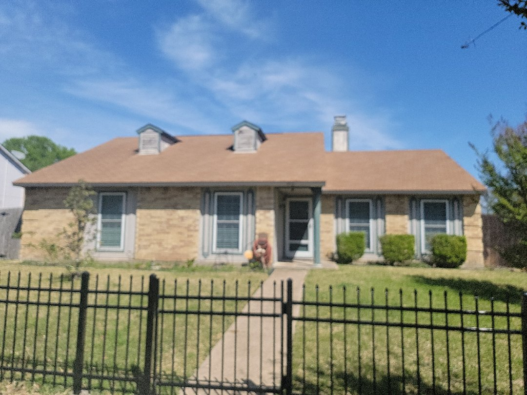 Garland, TX - Estimating for a roof replacement.