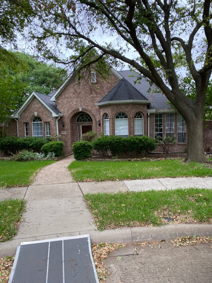 Plano, TX - Free roof inspection for possible wind damage leaks