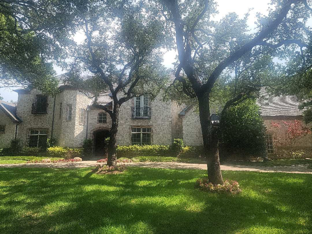 Dallas, TX - Looking at a roof on a home in Preston Hollow that is under contract for sale. The buyer's inspector said there were many issues with the roof, including hail damage and a number of leaks. About to climb the roof to see if my findings are the same as the buyer's inspector.