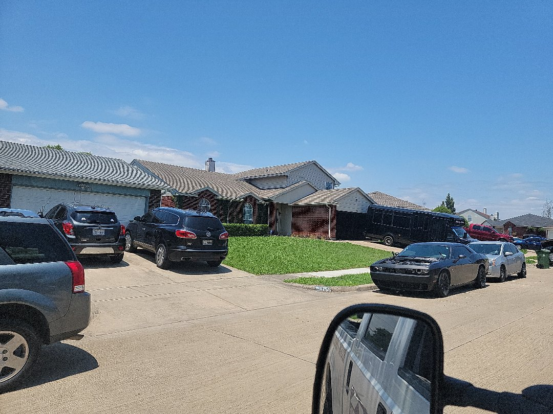 Arlington, TX - Looking at this roof for recent storm damage.