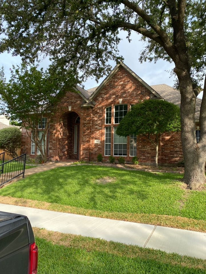Garland, TX - The roof inspection for possible leak