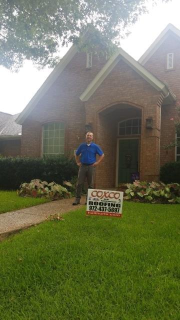 Allen, TX - Roof Inspection. Will replace the entire roof for customer.