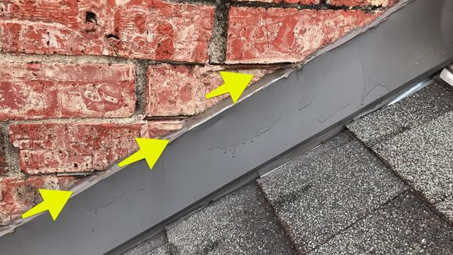 Garland, TX - Roof inspection, may need full roof replacement and customer needs new wood flooring inside of home because of buckling.