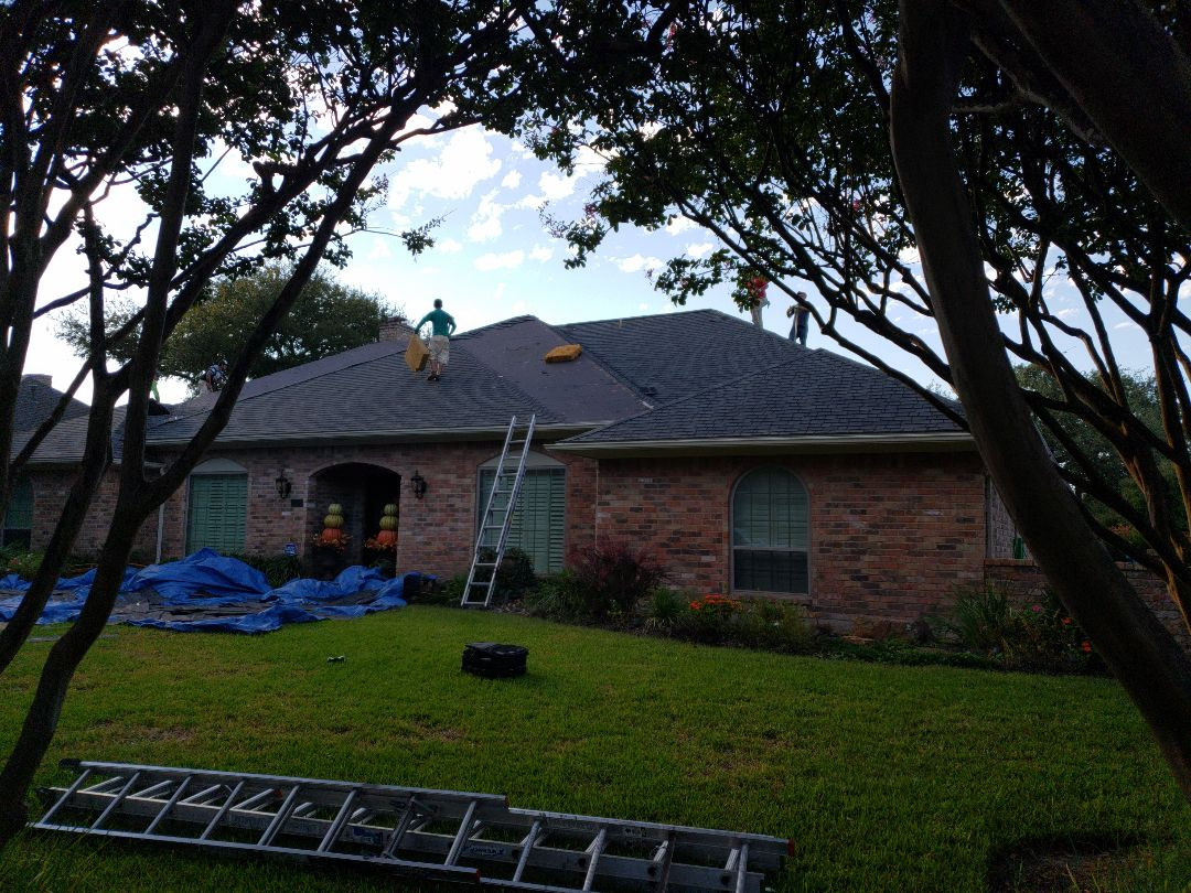 Dallas, TX - Roof replacement with GAF Golden Pledge+ warranty