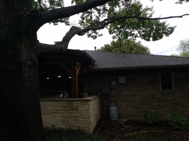 Plano, TX - Roof inspection for Mr. Meeks.