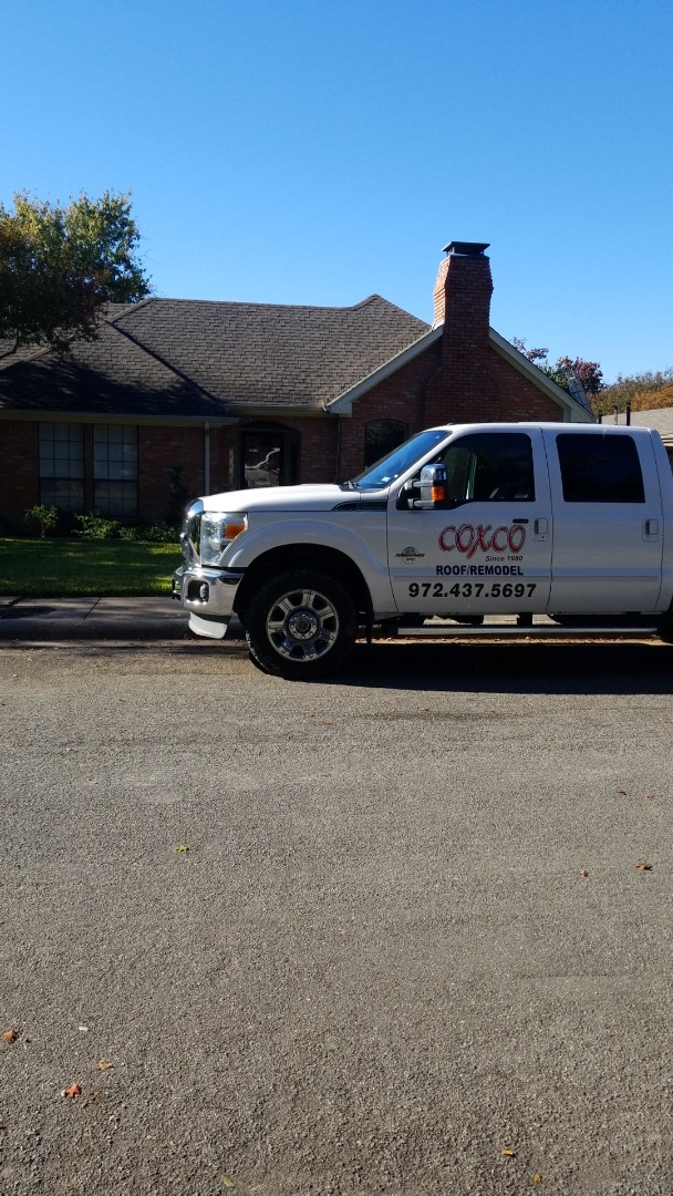 Dallas, TX - Squeaky Turbine and hail damage.  Taking care of this new customer today.  They can get some sleep tonight.