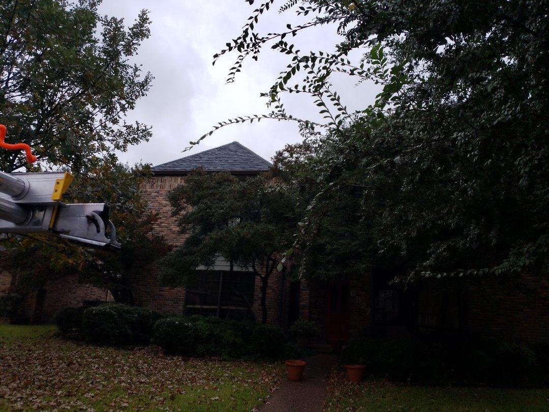 Dallas, TX - Chasing down a roof leak
