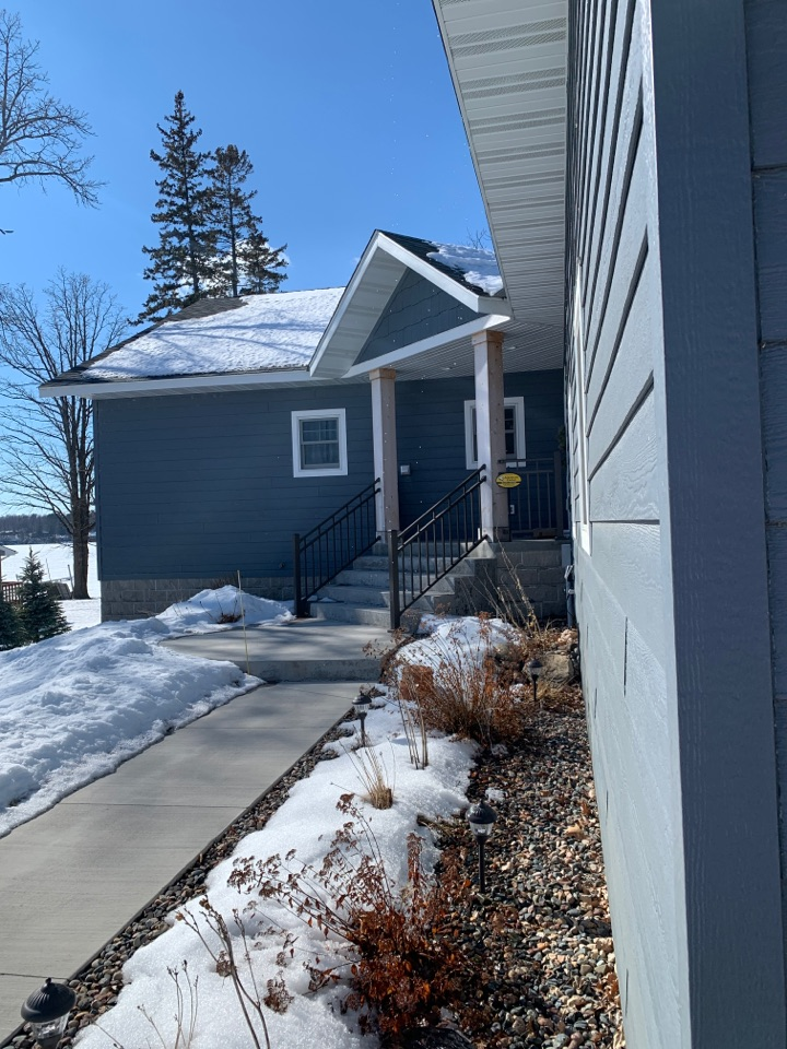 Longville, MN - Don't let your beautiful home get damaged from the effects of rainwater call Advantage Seamless Gutters today for a free estimate