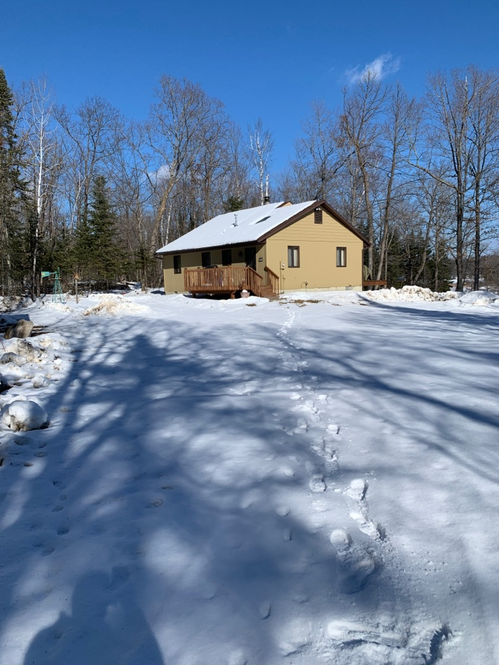 Longville, MN - Protect your cabin from the rain call Advantage Seamless Gutters today for a free estimate